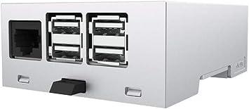 ITALTRONIC Italt Electronic Carril Caja: Embedded Caja Raspberry Pi 3 Kit 4 m XTS Compact Raspberry Pi 3 Model B: Amazon.es: Electrónica