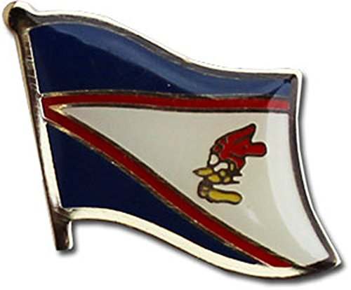 Pins Samoa Lapel (Flagline American Samoa - National Lapel Pin)