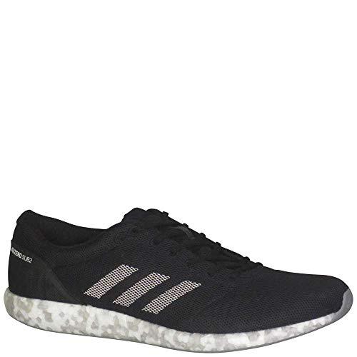 best service c1cfb d7f0a adidas Men s Adizero Sub2 Running Shoes Core Black White SOrange 10.5 D(M