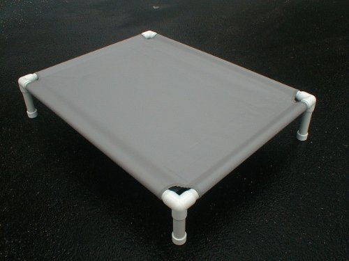 large-pvc-dog-cot-pet-bed-orthopedic-dog-bed-canvas-38x50x10-charcoal