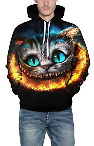 3d Con Cappuccio Fire Leone Felpa Lesaldy Lupo Pullover cat 5 Di Tampa Unisex Felpe Fantasia qTUn4wIA