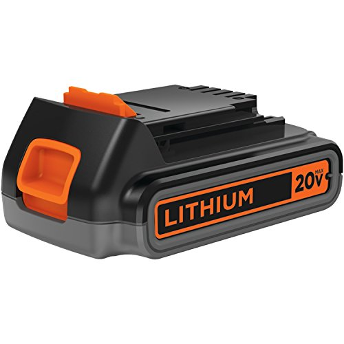 BLACK+DECKER LBXR2020-OPE 2.0 Ah Lithium Battery Pack, 20-volt