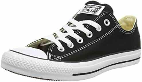 Converse Unisex Chuck Taylor All Star Low Top Black Sneakers - 13 B(M) US Women / 11 D(M) US Men