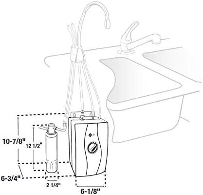InSinkErator HWT-F1000S Instant Hot Water Dispenser