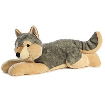 wild republic jumbo wolf plush giant stuffed animal plush toy gifts for kids 30. Black Bedroom Furniture Sets. Home Design Ideas
