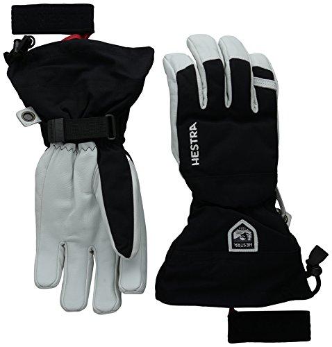 Hestra Heli Ski Glove, Black, 10