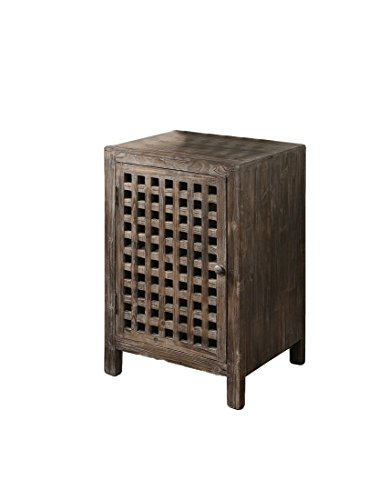 Crestview Collection Rustic Side Cabinet