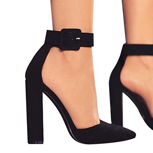 Huiyuzhi Womens Chunky Sandal Ladies