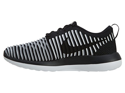 Two Running Shoe cool Nike Flyknit Black Women's Black Grey white Roshe Egwqnp6