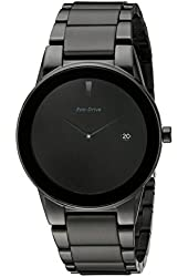 Citizen Eco-Drive Men's AU1065-58E Axiom Black Ion Plated Stainless Steel Watch