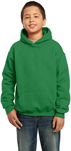 Gildan Heavy Blend Youth 8 oz., 50/50 Hood, Small, IRISH GREEN