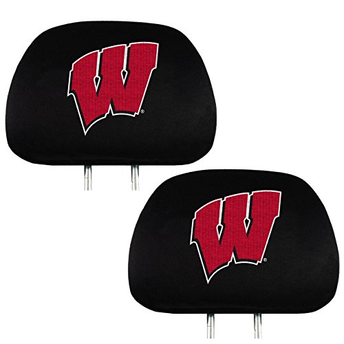 - Headrest Cover NCAA Fan Shop Authentic Headrest Cover, Wisconsin Badgers