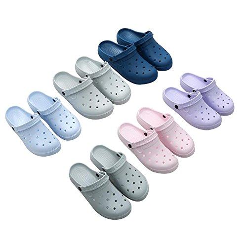 G-Kids Women's Clogs Grey (Grey 1) 3UY3Ib