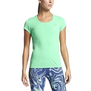 Nike Dri Fit Contour Short Sleeve - Camiseta de manga corta para mujer 2e4ffc5eaeb97
