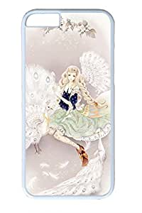 Anime Girl With Aries Cute Hard Cover For iPhone 6 Plus Case ( 5.5 inch ) PC White Cases by Maris's Diary