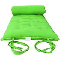 Brand New Queen Size Lime Traditional Japanese Floor Futon Mattresses, Foldable Cushion Mats, Yoga, Meditaion 60 Wide X 80 Long