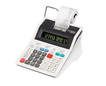 Citizen dpa calculatrice imprimante de bureau amazon