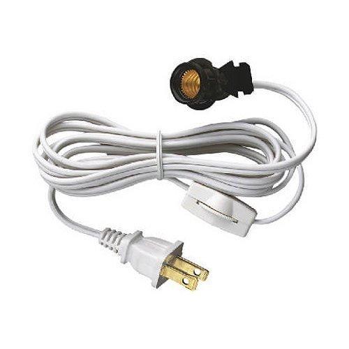 6-Pack Westinghouse Lighting 70108Snap-In Socket Cord. 6-Ft.