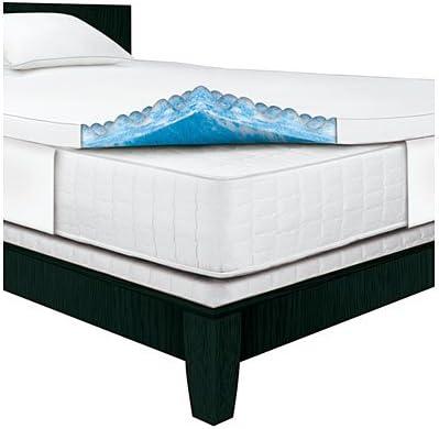 Serta Rest – King – 3 Inch Gel Memory Foam Mattress Topper – 80 x 76 x 3