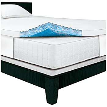Amazon Com Serta 2 5 Inch Queen Gel Memory Foam Mattress