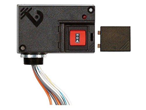 Veris, EncRly, SPST, 10A, HOA Res, 10-30&120V, V102: Electronic