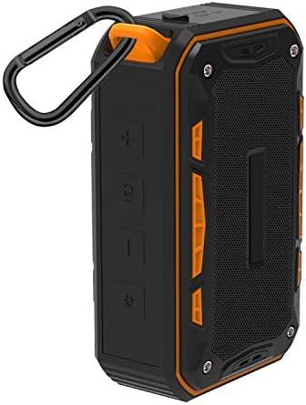 ブルートゥースワイヤレススピーカー6時間再生時間10メートルブルートゥース範囲IP67屋外防水ミニブルートゥーススピーカーブルートゥース4.1 (色 : Orange)