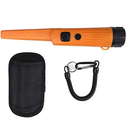 SODIAL Upgrade Metal Detector Pointer Pro Pinpoint Gp-Pointerii Waterproof Hand Held Metal Detector with Bracelet(Orange)