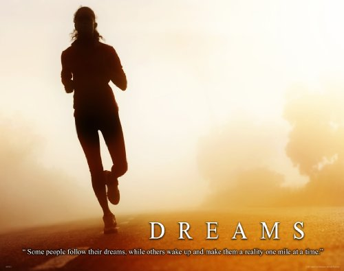 Running Jogging Motivational Poster Art Print 11x14 Womens Shoes Shorts Suit Wall Decor - Ladies Suit Photo