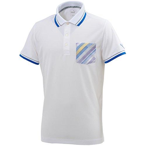 プーマ PUMA 半袖シャツ?ポロシャツ テーラード ピクセル ポケット 半袖ポロシャツ 574836