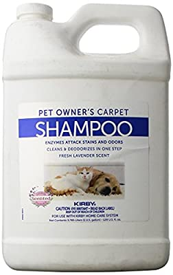 Genuine Kirby Pet Owners Foaming Carpet Shampoo (Lavender Scented)- 1 Gallon - Kirby Part #237507S. Use with SE2 Sentria 2 G11, Sentria SE G10 G9, DE G8 Diamond Edition, Classic