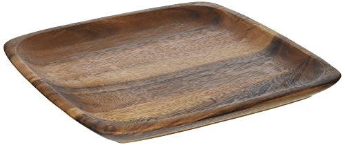 Noritake Square Platter - Noritake Kona Wood 12-Inch Square Plate
