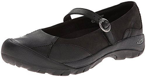 KEEN Women's Presidio MJ Shoe, Black, 36 EU/3.5 UK