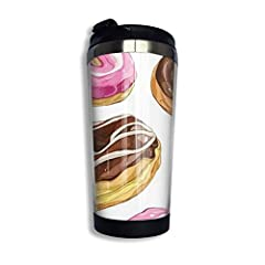 Durable Double Wall Vacuum Insulated Stainless Steel Interior And Keep Your Drinks Cold Or Hot. Easy Carry, Leak Proof, Whether You're Studying At School, Working At Your Job Site Or Camping In The Great Outdoors, Your Coffee Cup Helps Enhanc...