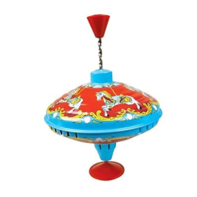 18cm Carousel Humming Top Toy