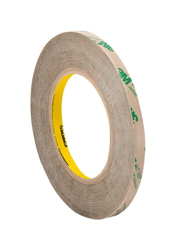 (3M 1/4-20-467MP Adhesive Transfer Tape 467MP, 0.25