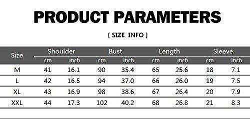 Heißer Verkaufs Herren Drache Druck O-Ansatz T-Shirts Casual T-Shirts 5 Farben (M, Weiß)