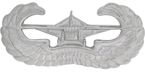 Glider Badge Metal Insignia - NON SUBDUED - Full Size ()