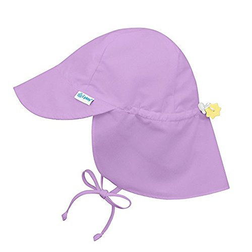 Sanyyanlsy 0-4 Year-Old Children Cotton Sun Visor Elastic Hat Wing Lanyard Cap Bandage Bow Knot Sun Protection Hat Purple