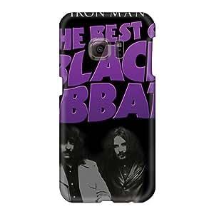 Samsung Galaxy S6 NyU11751kiqM Allow Personal Design Nice Black Sabbath Band Series Shockproof Hard Phone Cover -Marycase88