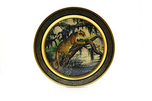 (Pickard China Collector Plate Lockhart 1978 American Panther 735/2000)