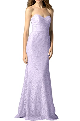 Abendkleider Neu Meerjungfrau Lang Lilac Herzform Glamour Ivydressing Spitze Partykleid U1BwAZZq