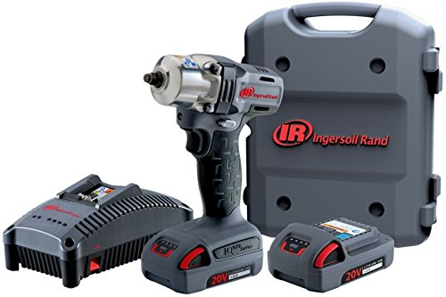 Ingersoll Rand W5150-K12 Mid-Torque Impactool Kit with Charger 1//2 1//2 Li-Ion Battery and Case