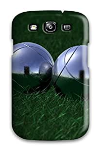Hot 6430029K38361690 Special Skin Case Cover For Galaxy S3, Popular 3d Balls Phone Case