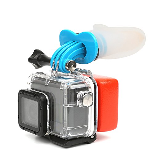 Surfing Diving Accessories Set for GoPro Hero 5/4/3 Session, Surfing Skating Shoot Surf Dummy Bite Mount Set