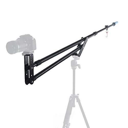 Koolertron New Portable DSLR Mini Jib Video Camera DV Crane Jibs Arm Extention Up to 6kg with Bag by Koolertron