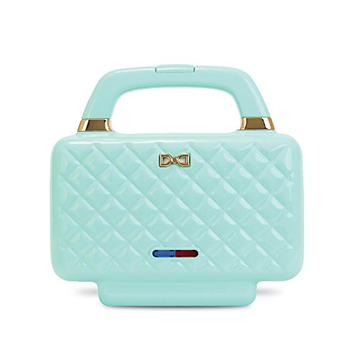 Dash DKCS100AQ Kitchen Couture Sandwich Maker, Aqua
