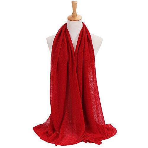 Womens Large Solid Soft Silky Bridal Evening Wedding Party Scarf Shawl ()