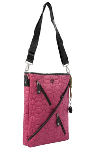 Slim Laptop Tote - Raspberry