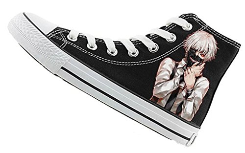 Bromeo Tokyo Ghoul Unisexo Hola-Top Zapatillas de lona Trainers Zapatos Shoes
