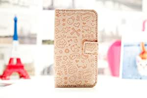 Magic Girl Cute lovely Little Witch Flip Pouch Cover PU Leather Skin Case Cover for Nokia Lumia 620 (light pink)